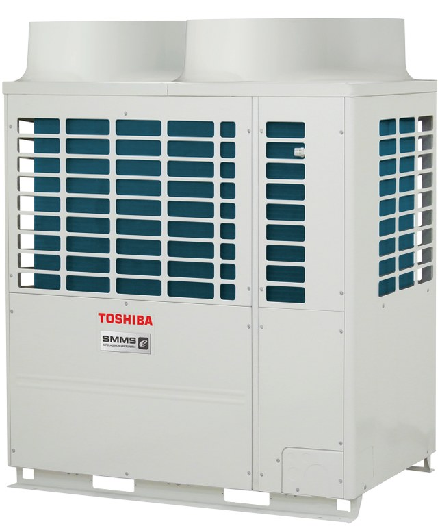 SMMS-e system VRF pompa ciepła